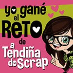 Gané el reto de junio de 2015 de A Tendiña do Scrap
