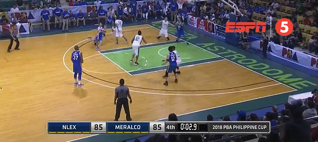 NLEX def. Meralco, 87-85 (REPLAY VIDEO) February 9