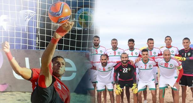 """أمم إفريقيا .. هزيمة قاسية لـ""""الأسود"""" أمام منتخب مصر للكرة الشاطئية"""