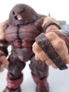Marvel Legends Diamond Select X-men X-Force- Juggernaut Spider-man