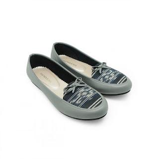 Flatshous Jepara Abu, The Warna sepatu Etnik Indonesia