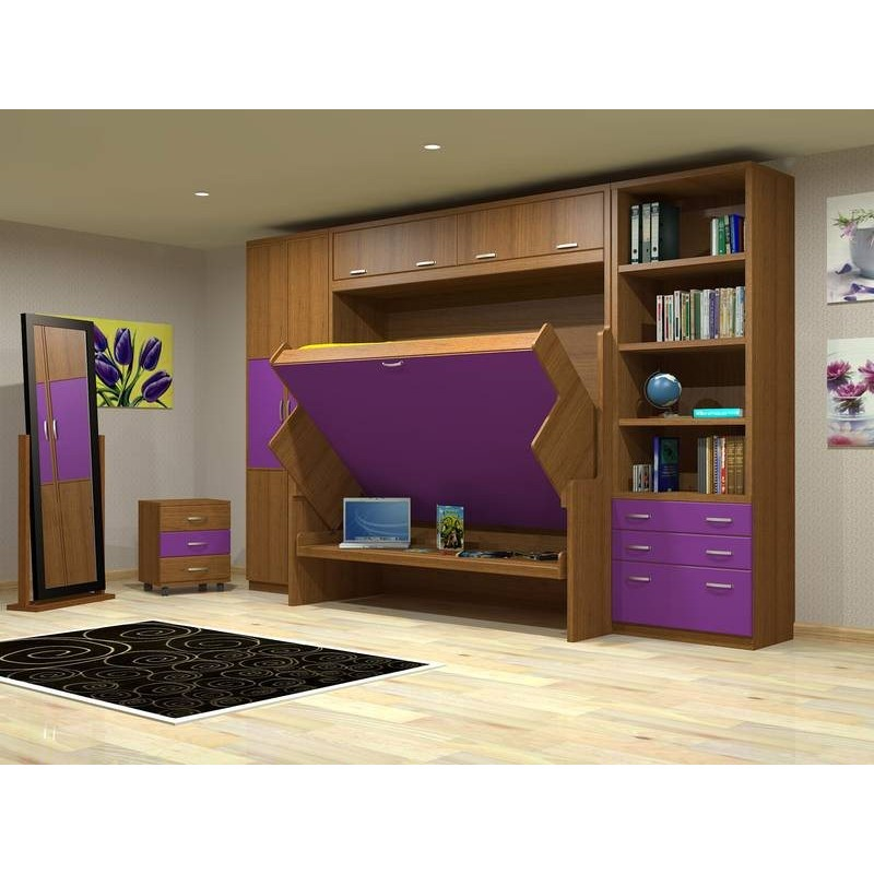 Youngspaces Hiddenbed A Desk By Day Amp A Bed By Night