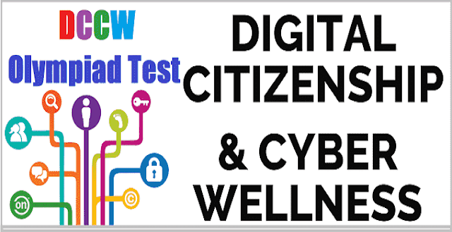 DCCW Digital Citizenship Cyber Wellness Olympiad Test 2017 -LearningOlympiads