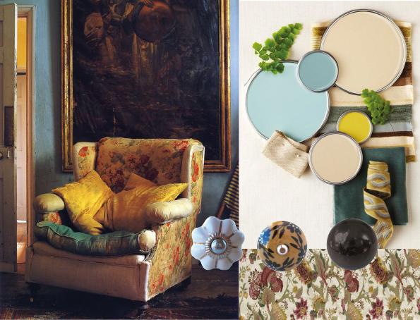 boutons de meubles folk-vintage