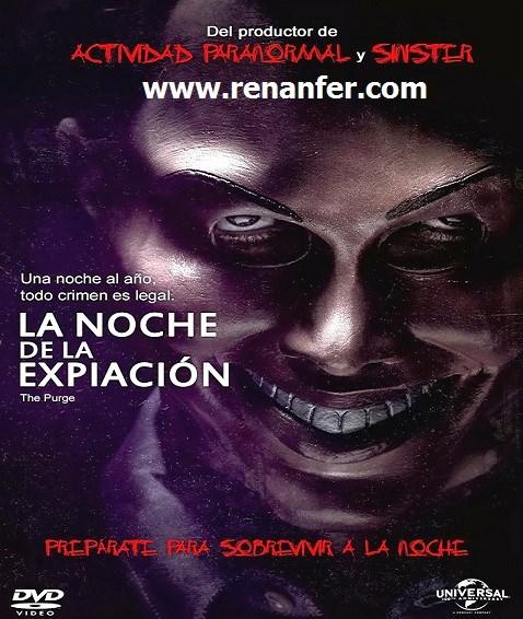 La Noche De La Expiación 2013 [BRRip][700MB][Latino][AVI][MEGA]