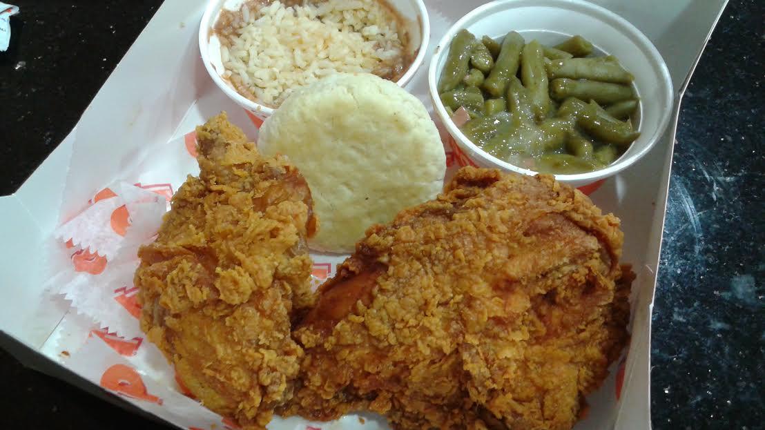 Fried Chicken Lips Popeyes Big Box