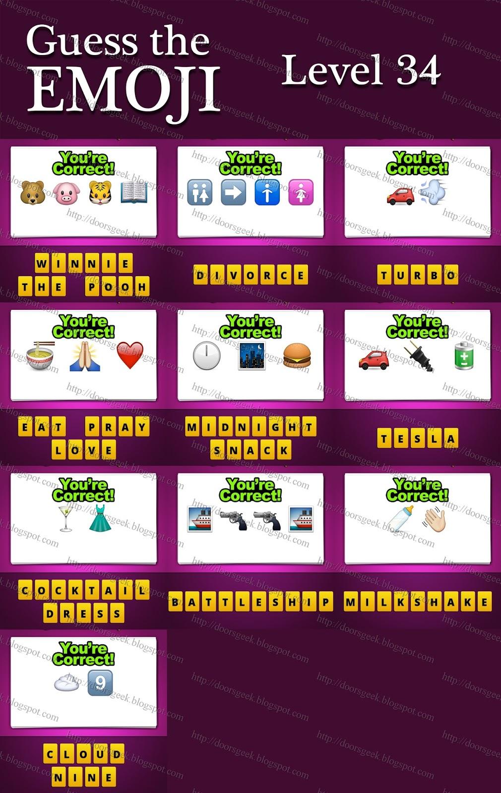 Level 39 Guess The Emoji Guess The Emoji [Level...