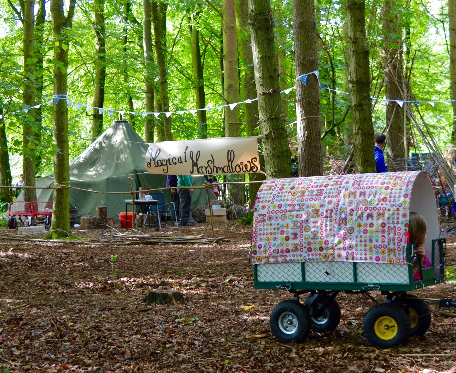 33 Reasons we LOVED the Just So Festival 2016 - spellbound forest