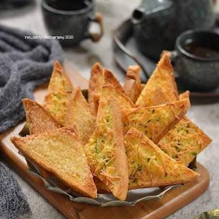 Resep Cemilan Bagelen & Garlic Roti Tawar