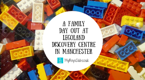 Family Day Out at LEGOLAND Discovery Centre in Manchester (REVIEW)