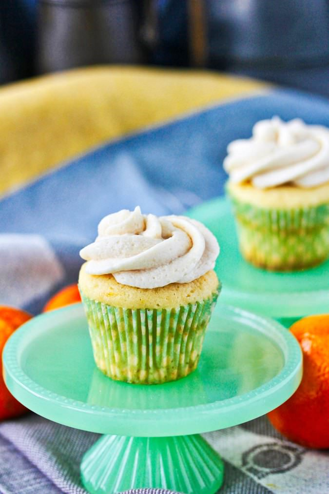 Creamsicle Mini Cupcakes