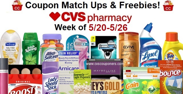 http://www.cvscouponers.com/2018/05/cvs-coupon-match-up-freebies-520-526.html