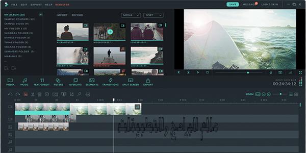 تحميل برنامج فيلمورا 2019 Wondershare Filmora اخر إصدار برابط مباشر