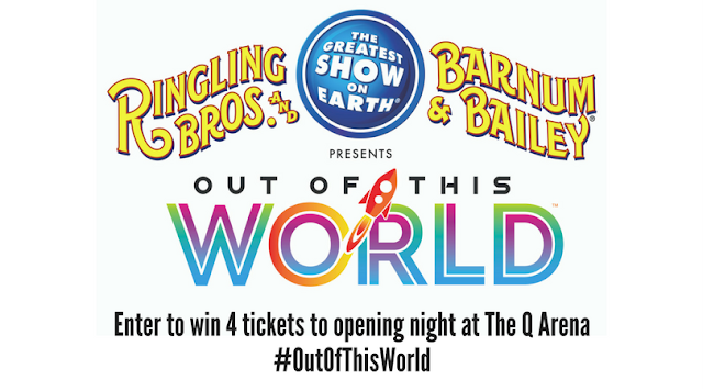 Ringling Bros. and Barnum & Bailey present #OutOfThisWorld in CLE! Enter to Win!