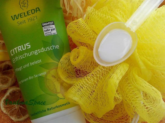 Гель-для-душа-weleda-citrus-отзыв-vasilenaspace.blogspot.com