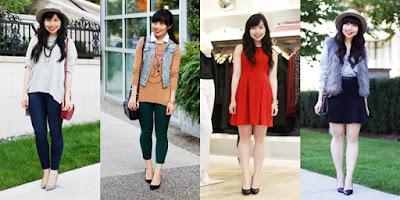 Fashion Wanita Bertubuh Pendek