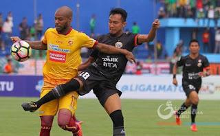 Persija Kalah di Kandang Sriwijaya FC #Liga1