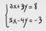 5 Sistemas de ecuaciones - Método de igualación