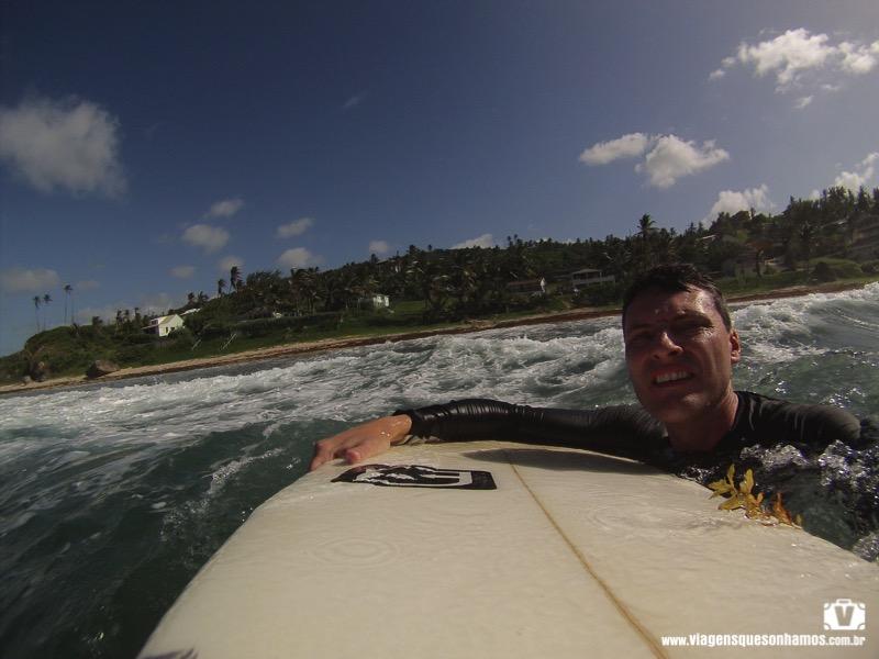 Surf em Barbados