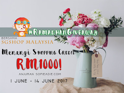 RAMADHANGIVEAWAY bersama SGShop Malaysia
