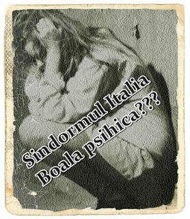 pareri sindromul italia simptome si tratament psihologic