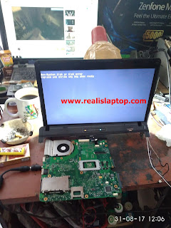 Serfis Laptop Compaq 515 Layar Mati / Tidak Tampil