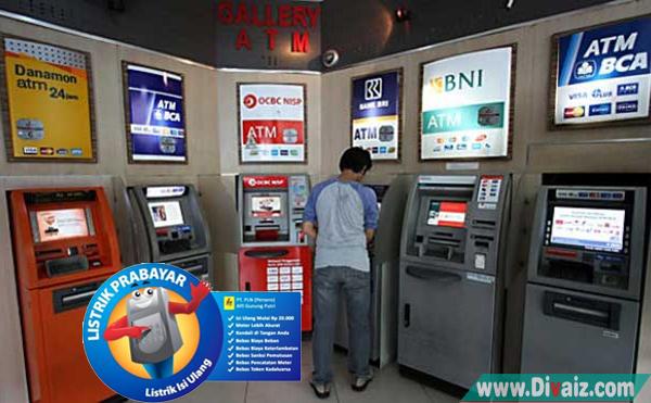 Cara Isi Pulsa Listrik Lewat ATM BRI, BNI, BCA, MANDIRI