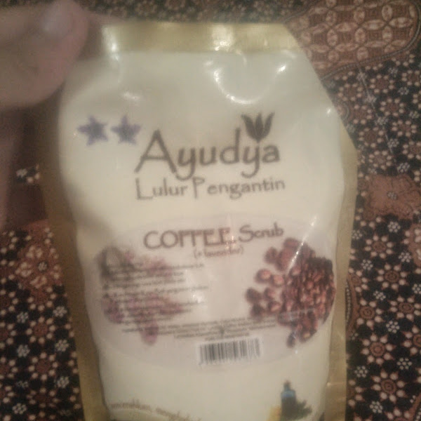Review: Ayudya Lulur Pengantin Coffee Scrub