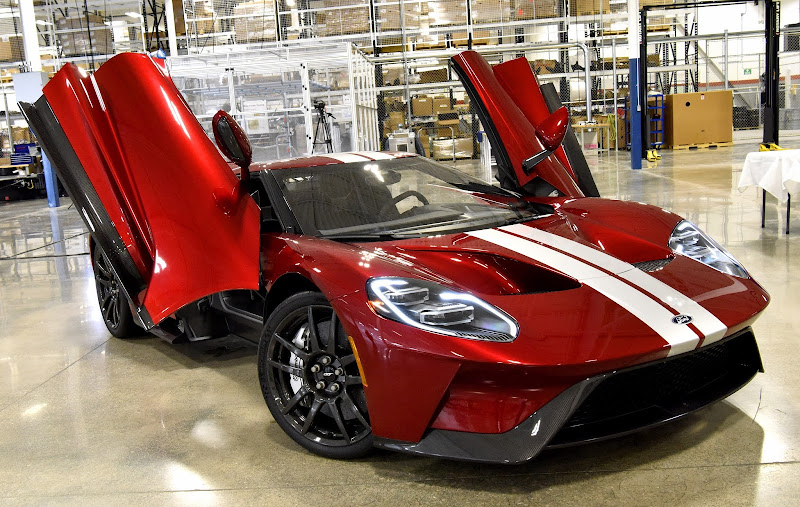 Production Starts For The  Ford Gt