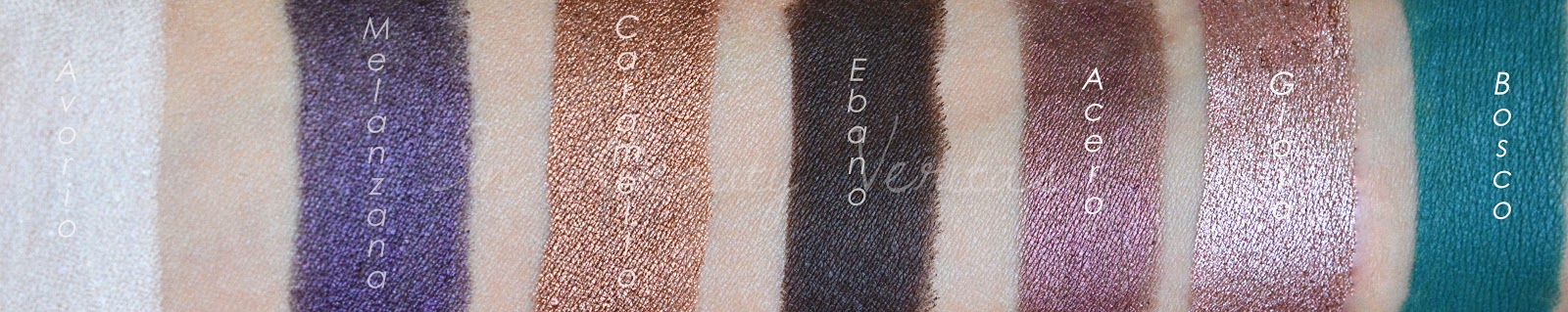 swatches pastelli neve cosmetics, swatches pastello revolution neve cosmetics, swatches pastello bosco neve cosmetics, pastello revolution neve cosmetics, swatches matite occhi neve cosmetics