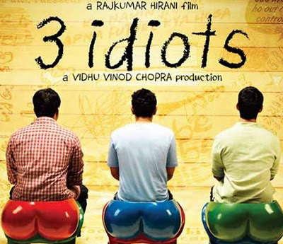 Three Idiots movie poster
