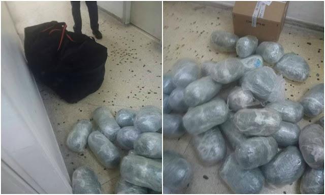 Ηγουμενίτσα: Συνελήφθησαν δύο νεαροί με 67 κιλά κάνναβης (+ΦΩΤΟ)