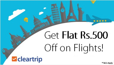 Cleartrip hotel coupons november 2019