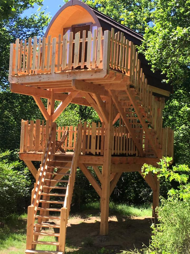 Case prefabbricate in legno for Kit per costruire casa sull albero