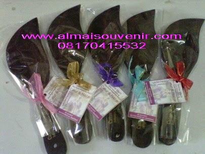 souvenir centong daun hitam souvenir nikah