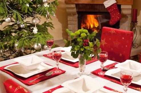 cmo decorar el comedor en navidad