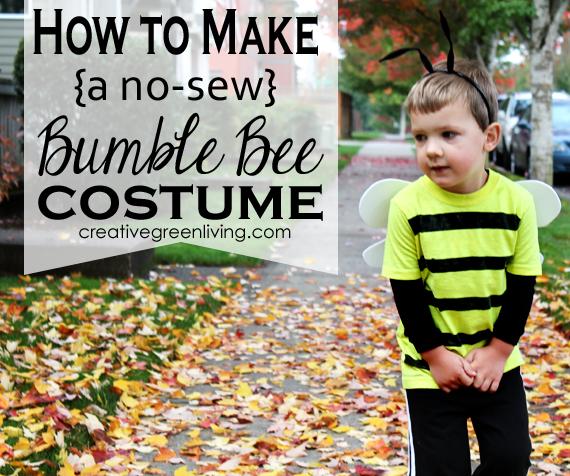 Bumble Bee Costume Tutorial Inexpensive Amp No Sew
