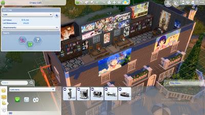Cara membuat custom painting the sims 4