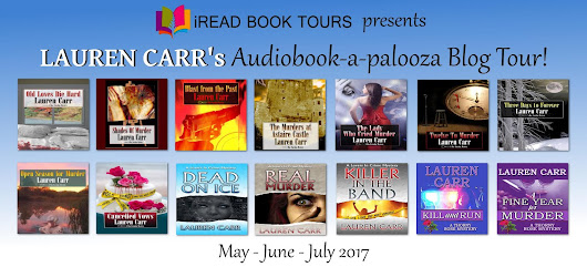 **Giveaway** Lauren Carr's Audiobook-a-palooza Blog Tour **Review - Real Murder**