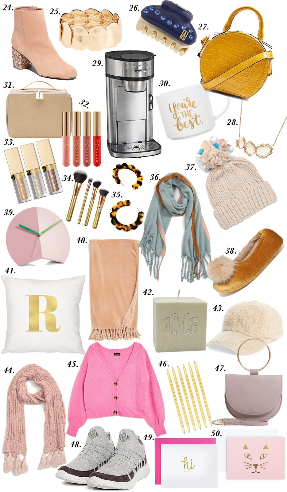Gift Guide: 50 Gifts Under $50 - Something Delightful Blog