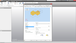 Autodesk Inventor Aplication Options