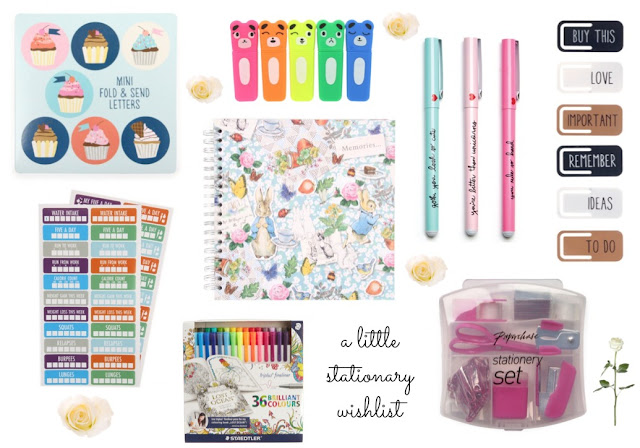 Stationary Wishlist