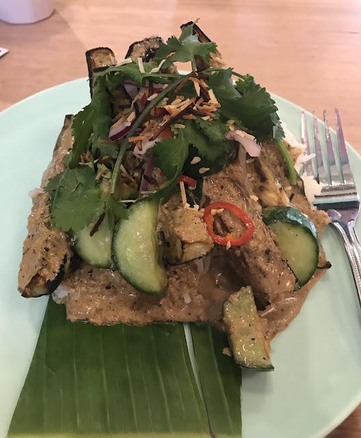 HWKR, Melbourne, BBQ Asian eggplant