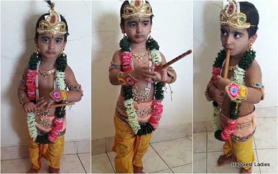 Krishna dress up fro 2 years