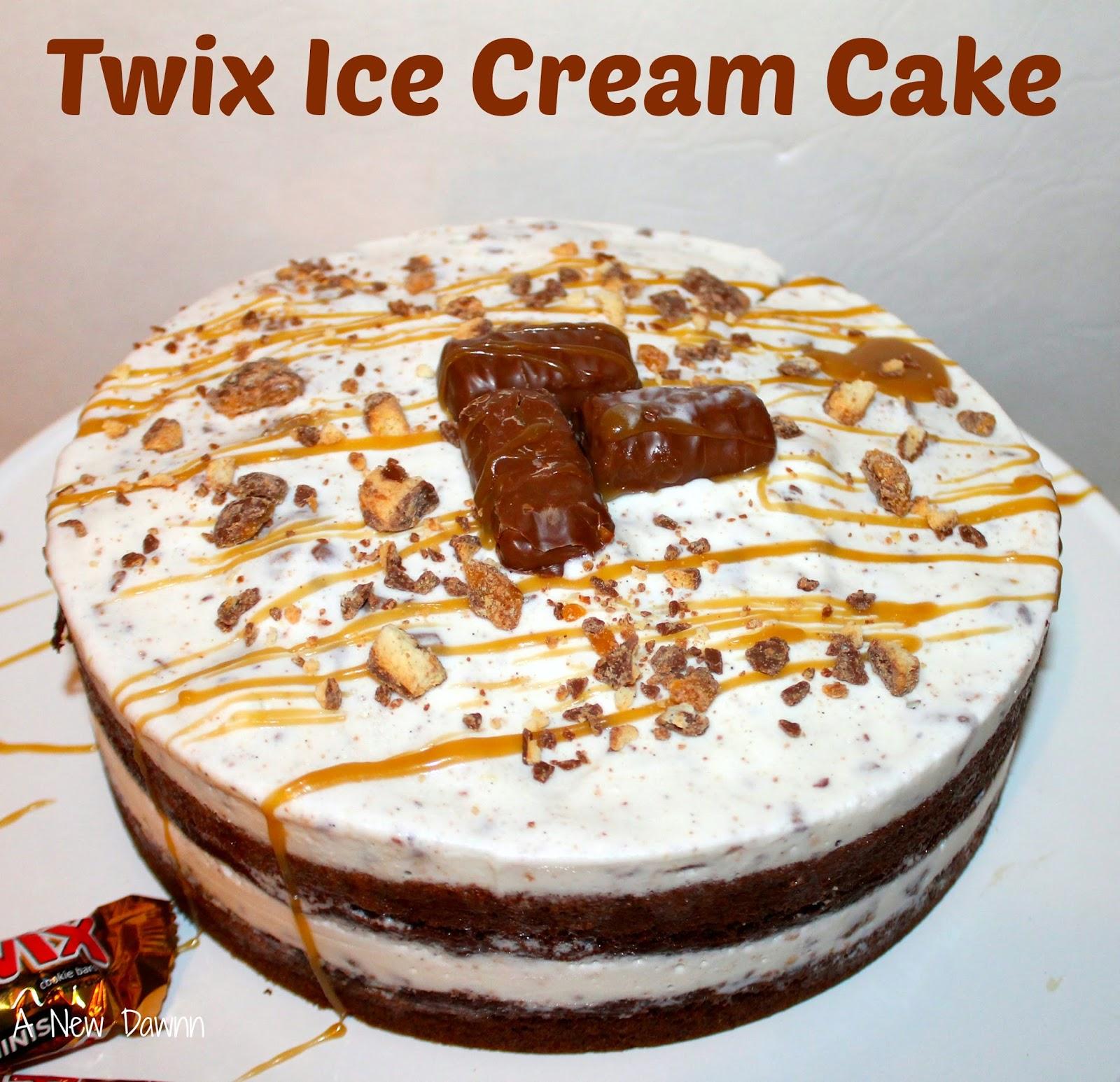 Where To Buy Twix Ice Cream Cake