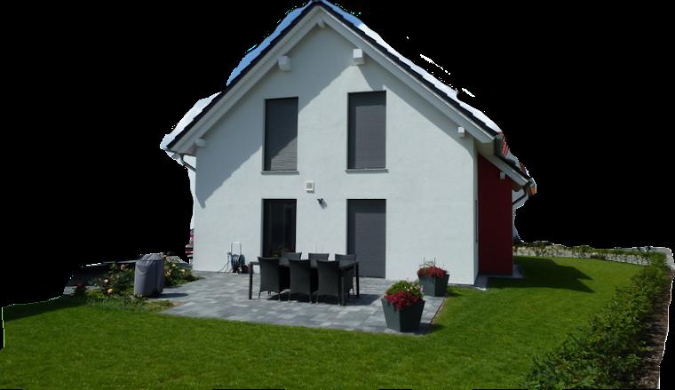 hausbau von christian und jeannette mit der firma deko hausbau gmbh pflasterarbeiten komplett. Black Bedroom Furniture Sets. Home Design Ideas