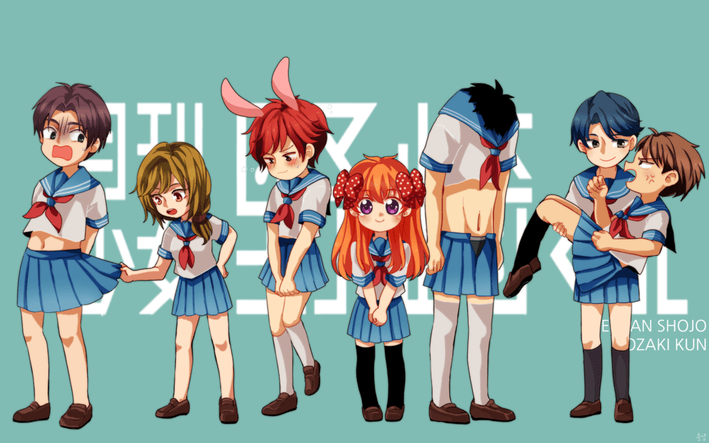 Gekkan Shoujo Nozaki-kun [BD] Sub Indo : Episode 1-12 END