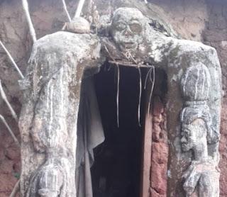 ritualists den ilobu osun state