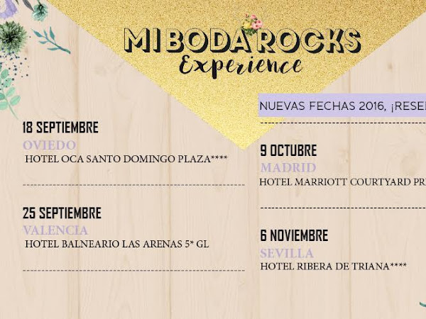 Reserva Stand MBRE Otoño 2016 Madrid, Barcelona, Valencia, Oviedo y Sevilla