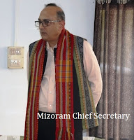 MIZORAM CHIEF SECY VISTS KOLASIB